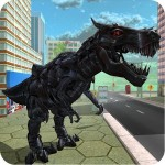Futuristic Robot T-Rex 3D XeloMan Games