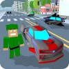 Blocky Hover Car: City Heroes MobileGames