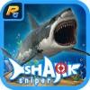 猛烈な鮫スナイパーハンター RealGames