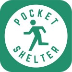 震災時避難支援アプリ ポケットシェルター Pocket Shelter