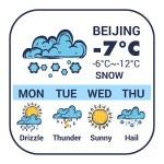 時計と天気予報ウィジェット 日本気象情報tennki Weather Widget Theme Dev Team