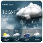 Storm Clock & Weather Widget Weather Widget Theme Dev Team