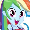 Dress Up Rainbow Dash ennieD