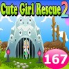 Cute Girl Rescue 2 Game 167 Best Escape Game