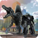 Robot Transform in Dino X-Ray Midea Kama True