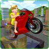 Kids MotorBike Roof Top Stunts KidRoider