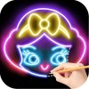 Draw Glow Princess Draw apps for free