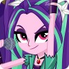 Dress Up Aria Blaze zolotovoel