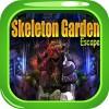 Kavi 33-Skeleton Garden Escape KaviGames