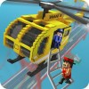 Blocky Helicopter City Heroes TrimcoGames