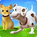 Cat & Dog Online: Pet Animals Foxie Games