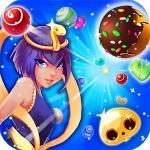 魔女の頭蓋骨キャンディー match 3 classic