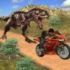 自転車レースディノ冒険3D。 GameCanvas