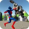 ストランジヒーロー対ロボットX Fun Action Apps