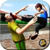 Neighbor Mom Fighter Game TheGame Feast