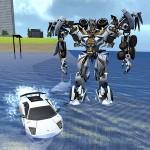 X Robot Car : Shark Water OmskGames