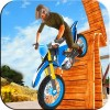 自転車トライアルの3Dレース Topi Tapi Games