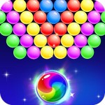 Bubble Shooter Crazy Letter Games