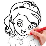 Draw Princess Creative APPS