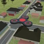 Flying Fidget Spinner Training parking games