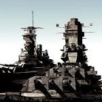 戦艦決戦 – 戦艦大和 vs 戦艦アイオワ HITOSHI YASUI, scarlet year