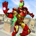 飛行 ロボット スーパーヒーロー : 犯罪 シティ レスキュー Evolution Game: 3D Simulator