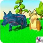 オオカミシミュレータファンタジージャングル Kooky Games
