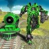 地下鉄ユーロ列車の変革ロボット戦争 White Sand – 3D Games Studio