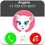 Call From Talking Angela Vivadual