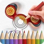 Fidget Spinner Coloring Books ColorJoy