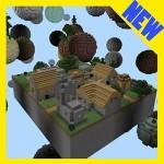 Block Worlds. MCPE maps survival Esquire4545