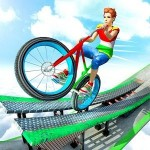 BMX サイクル スタント 不可能 トラック Evolution Game: 3D Simulator