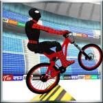 スーパーヒーローBMX自転車スタントトラック MobilePlus