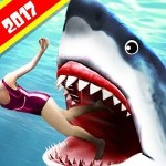 Angry Shark 2017 : Simulator Game Multi Touch Games