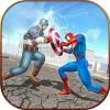 スパイダーヒーロー対キャプテンUSAスーパーヒーロー Stain For Games