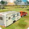 キャンパーバントラックシミュレータ:クルーザー車のトレーラー3D Wacky Studios -Parking, Racing & Talking3D Games