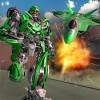 未来の飛行機ロボットはジェット戦争を変える White Sand – 3D Games Studio