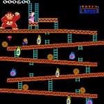 Monkey Kong classic arcade akaditan