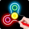 Draw Finger Spinner DrawAPP