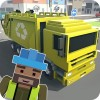 Mr. Blocky Garbage Man SIM Awesome Kids Games