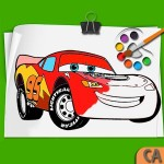 Mcqueen Coloring pages Cars 3 COLOR ART STUDIO 2018