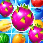 Dragon Fruits: Match 3 Adventure Fruit Candy Bubble Puzzles