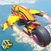 Flying Robot Bike : Futuristic Robot War TheGame Feast