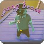 Hood with Gang Beast Survival Simulator oenkop