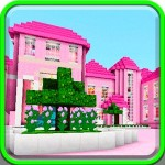 Pink dollhouse games map for MCPE roblox ed. Indiegamie