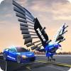 米国の警察はロボット車の警官のイーグルゲームを変形する KickTime Studios