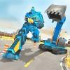 ショベル ロボット ゲーム – 変革 ロボット シミュレータ MizoStudio Inc