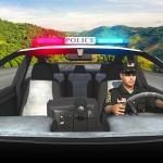 未舗装道路警察の車の運転 – Offroad Police Car Driving Racing Games Android