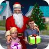 豊かなお父さんサンタ:楽しいクリスマスゲーム 3DeeSpace