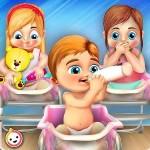 新生児 赤ちゃん トリプレット : ママ お手入れ 保育園 TikTok
